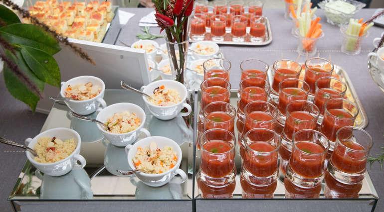 Receita de Gazpacho e Couscous Marroquino de Legumes e Amêndoas